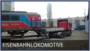 Transport Eisenbahnlokomotive