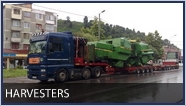 harvesters transport