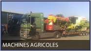 transports hors gabarit - machines agricoles