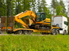 construction machinery transport